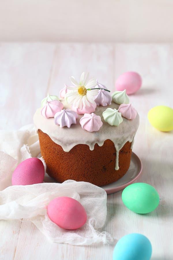 Pastel ruso de Pascua fotografía de archivo