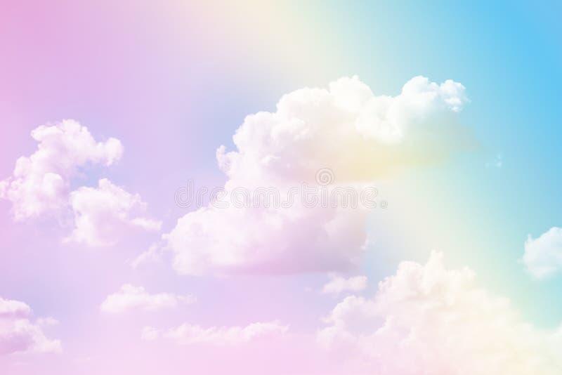 Pastel sky texture stock photos