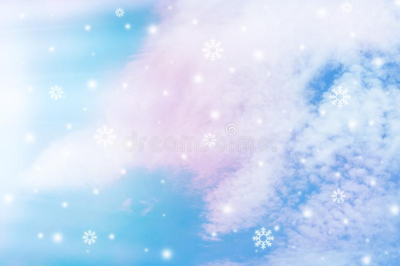 Pastel sky texture royalty free stock images