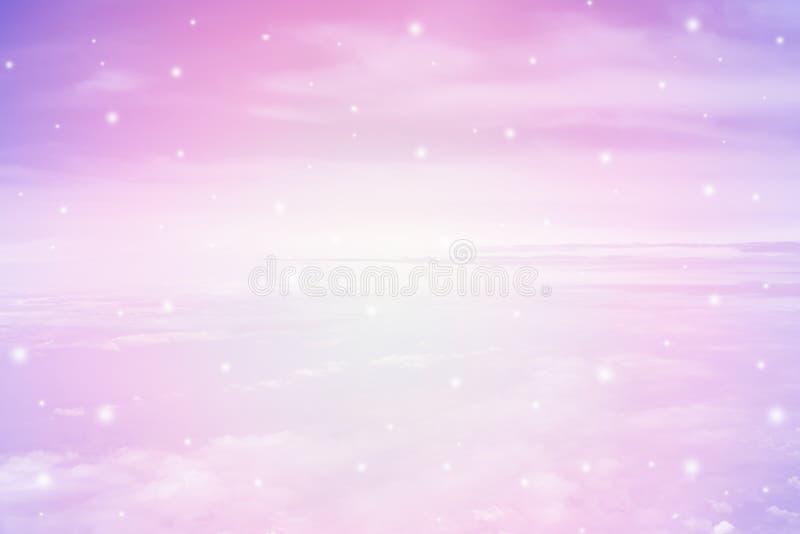 Pastel sky texture royalty free illustration