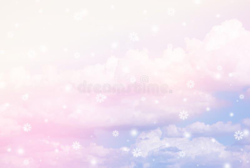 Pastel sky texture vector illustration