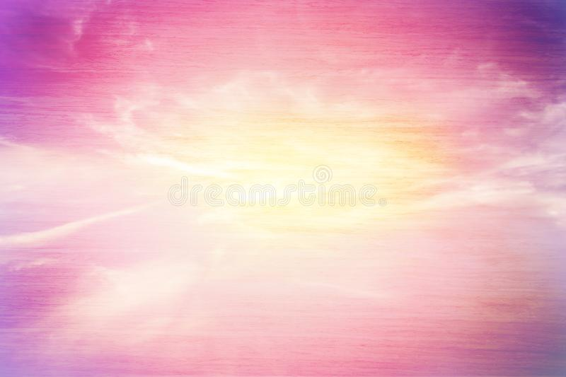 Pastel sky texture royalty free stock photography