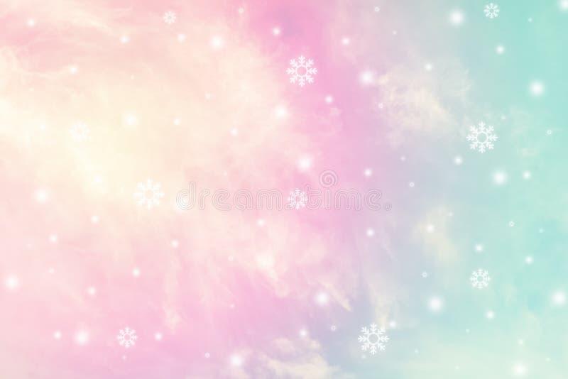 Pastel sky texture stock photo