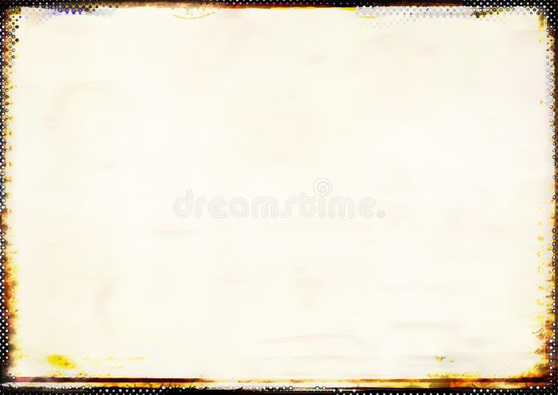 Pastel soft background with burnt border stock photo