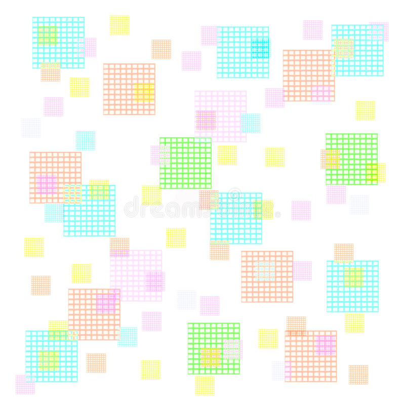 Download Pastel squares stock illustration. Illustration of pastel - 29635573
