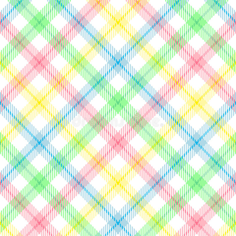 Download Pastel Stripe Plaid stock vector. Image of stripe, pattern - 11013410