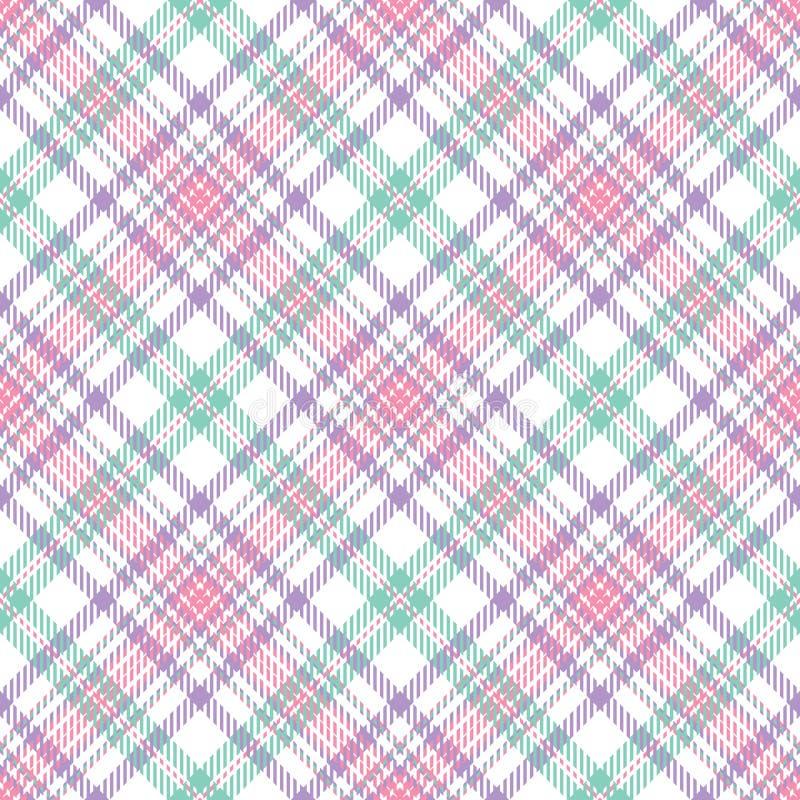 Pastel Stripe Plaid stock vector  Illustration of illustration - 8368132