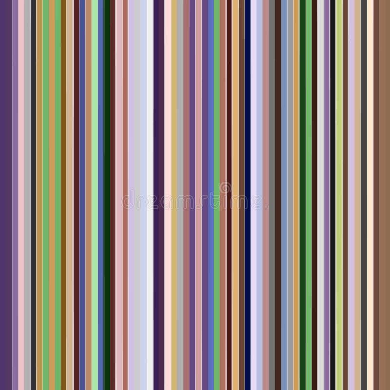 Pastel stripes. On white background stock illustration