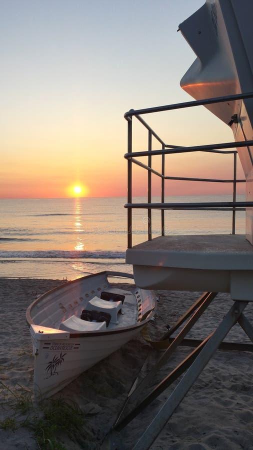 Pastel Sunrise royalty free stock photos