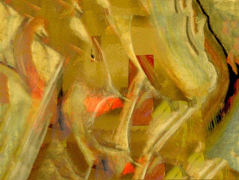 Pastel sur le papier photo libre de droits