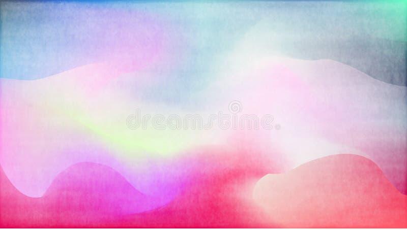 Pastel watercolor backdrop.  Fashion background. Watercolor brush strokes. Creative illustration. Artistic color palette.  Fluid. Pastel watercolor backdrop royalty free illustration