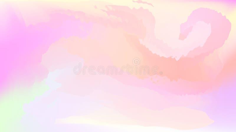 Pastel watercolor backdrop.  Fashion background. Watercolor brush strokes. Creative illustration. Artistic color palette. Vector. Pastel watercolor backdrop vector illustration