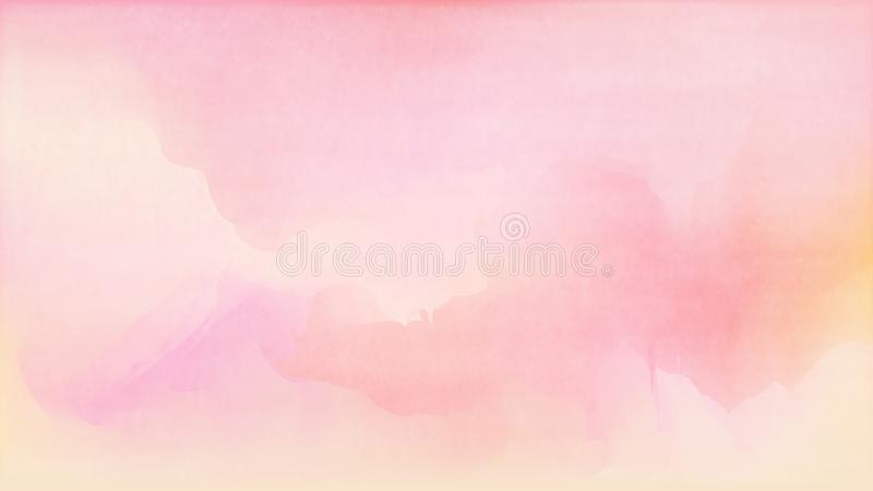 Pastel watercolor backdrop.  Fashion background. Watercolor brush strokes. Creative illustration. Artistic color palette. Vector. Illustration. Fluid Gradient stock illustration