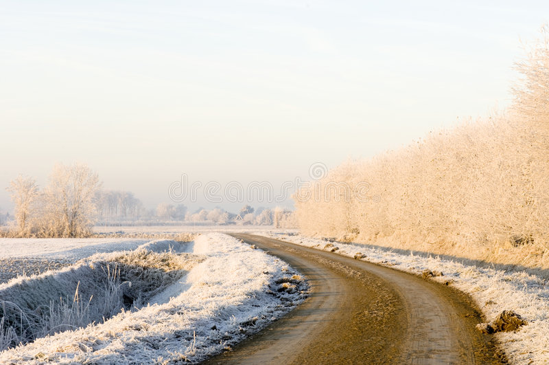 Pastel Winter Tones Stock Photos