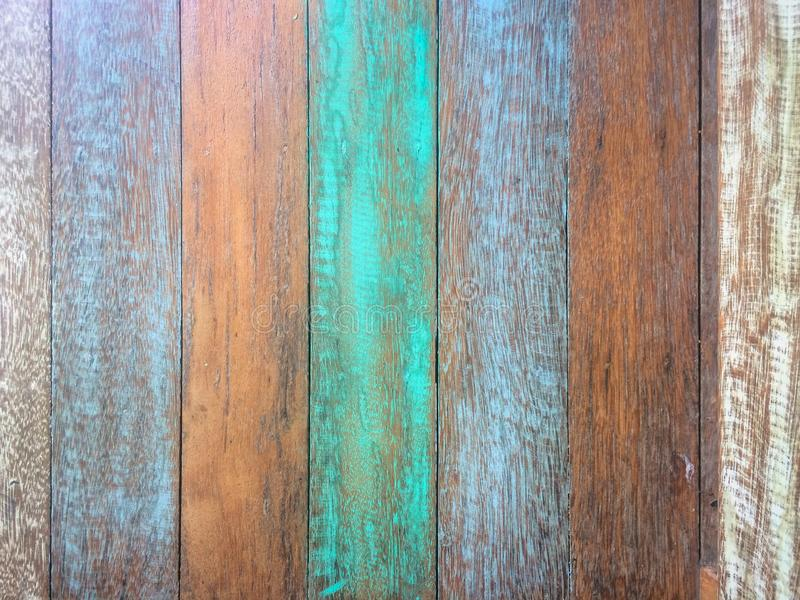 Pastel Wood planks material texture background stock photography