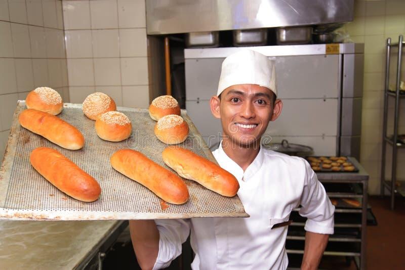 Pastelaria do cozinheiro chefe imagens de stock