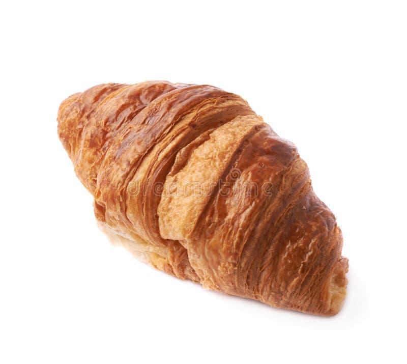 Pastelaria doce do croissant isolada fotos de stock royalty free