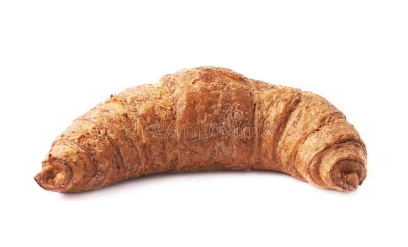 Pastelaria doce do croissant isolada foto de stock