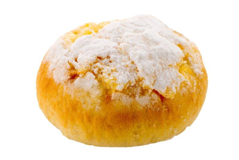 A pastelaria portuguesa tradicional do coco chamou Pao de Deus foto de stock royalty free