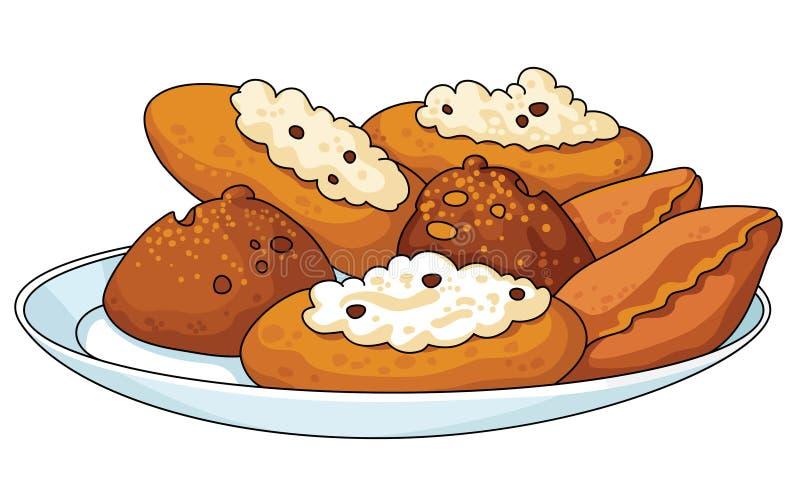 Pastelaria Saboroso Fotografia de Stock Royalty Free