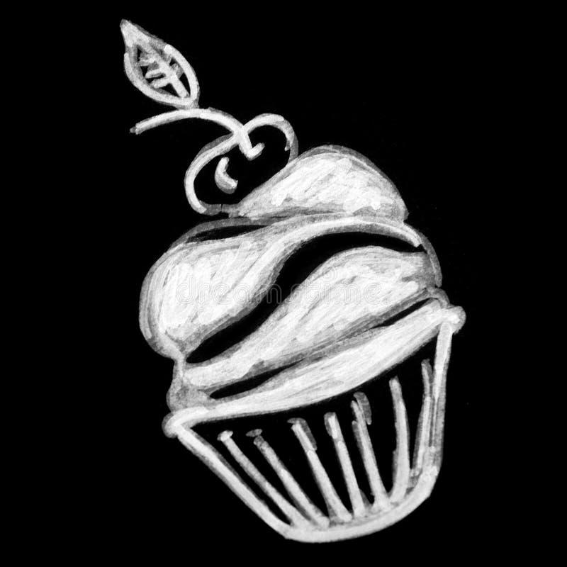 Pastelarias doces no quadro foto de stock royalty free