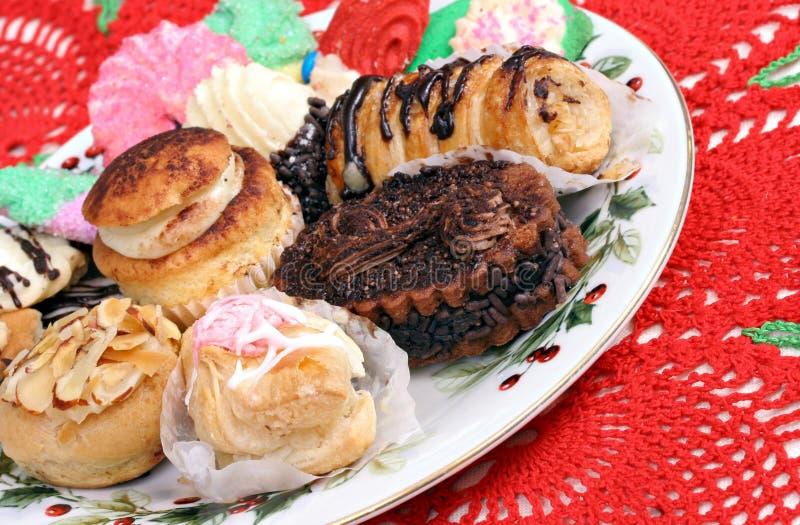 Pastelarias italianas para o Natal fotos de stock royalty free