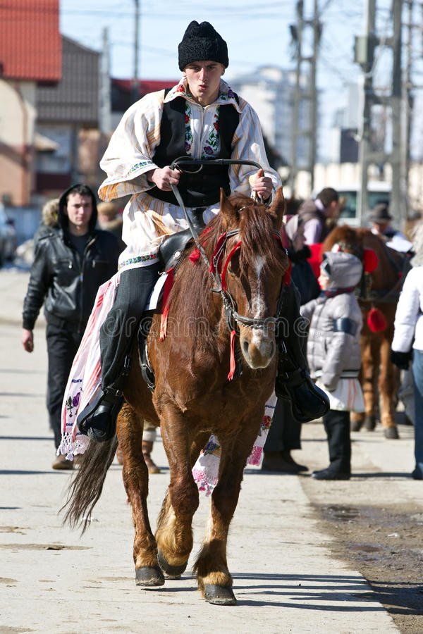 Download Pastele Cailor(Horses Easter) Festival Editorial Stock Image - Image: 23682659