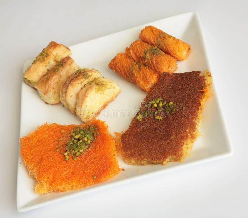 Pasteles 3 De Ramadan Imagen de archivo