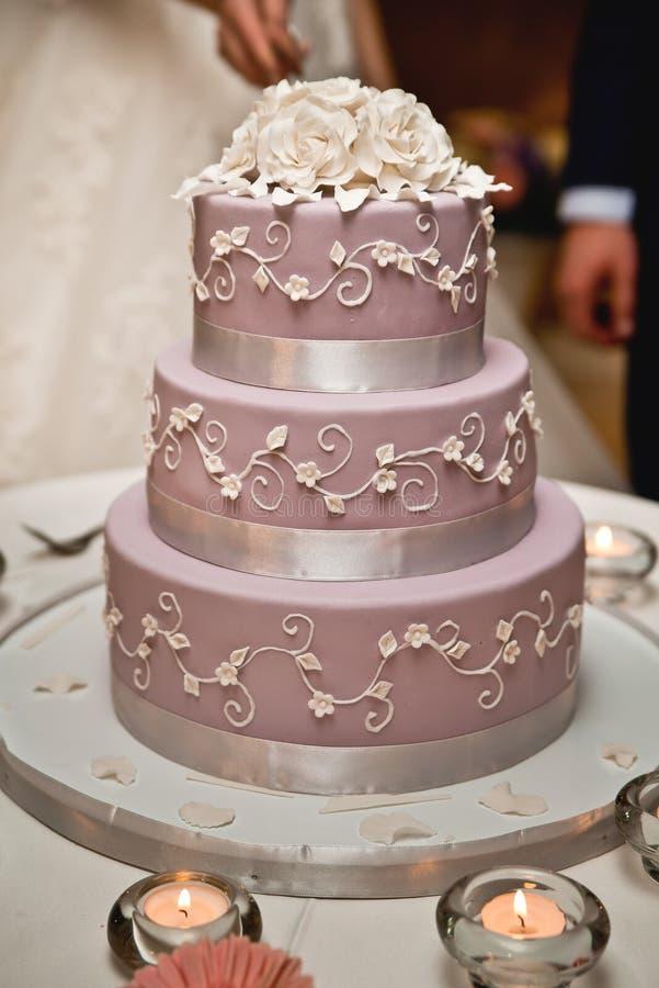 Pasteles de bodas imagen de archivo libre de regalías