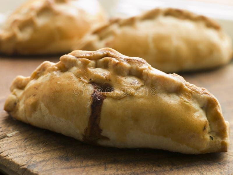 Pasteles de Cornualles tradicionales imagen de archivo