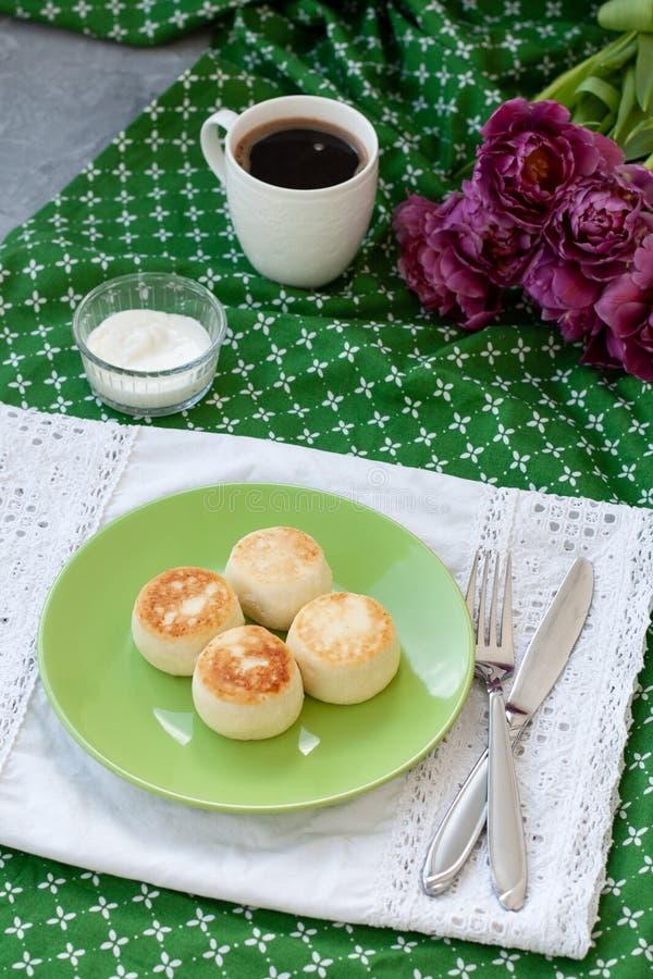 Pasteles de queso diet fotografía de archivo