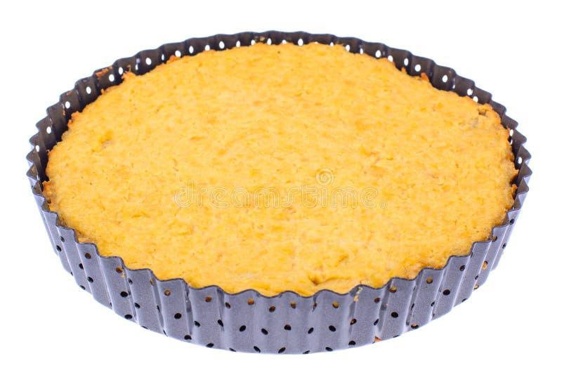 Pasteles dietéticos ningún azúcar Tarta de manzanas con la harina de avena fotografía de archivo libre de regalías