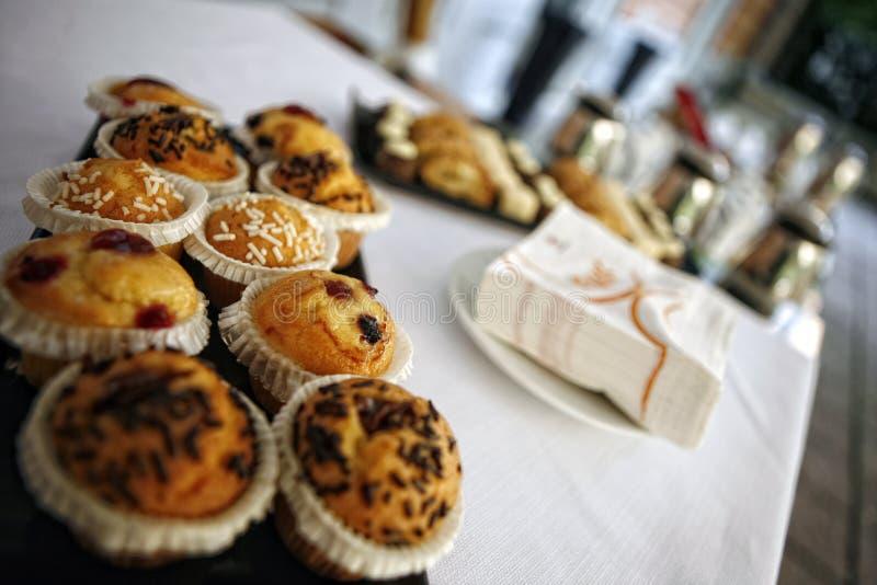 Pasteles italianos dulces foto de archivo libre de regalías