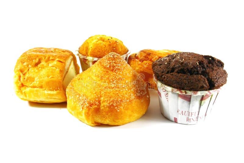 Pasteles y tortas clasificados fotografía de archivo