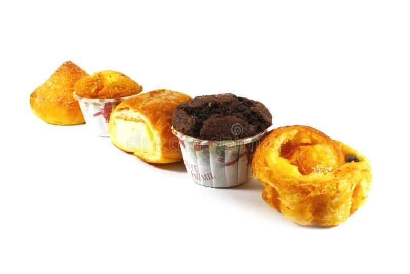 Pasteles y tortas clasificados fotografía de archivo libre de regalías