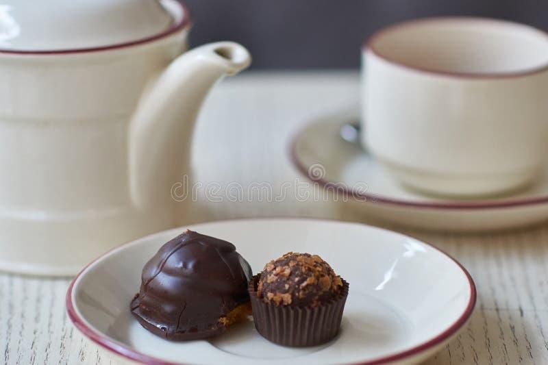 Pastelitos del chocolate imagen de archivo libre de regalías