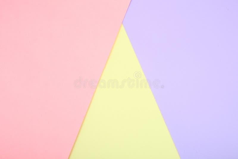 Pastelkleur gekleurd document royalty-vrije stock fotografie