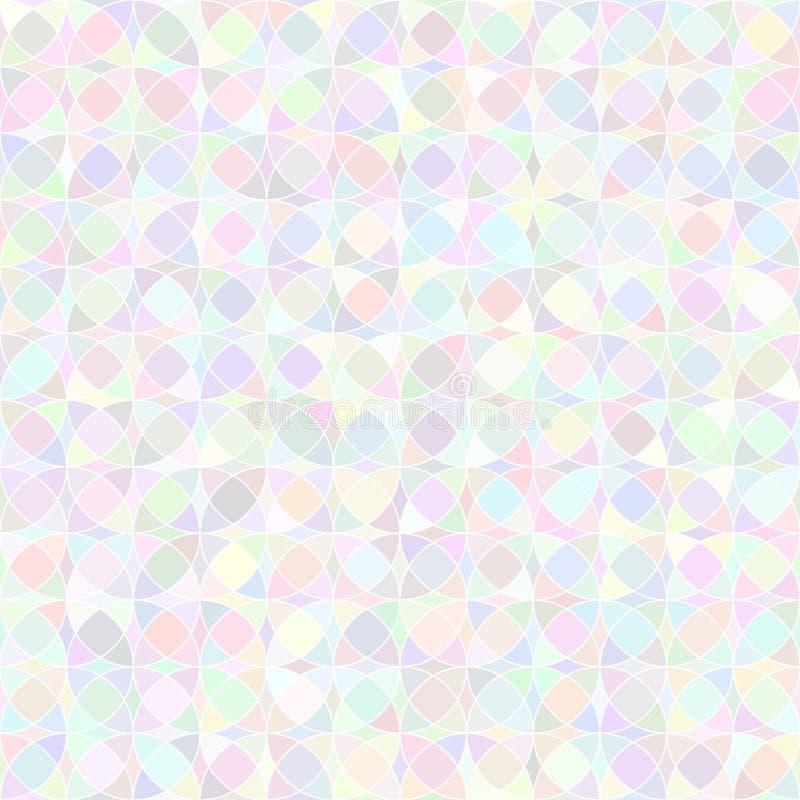 Pastelkleur Naadloos patroon royalty-vrije illustratie