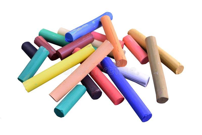 Pastelkleur voor het schilderen stock afbeelding