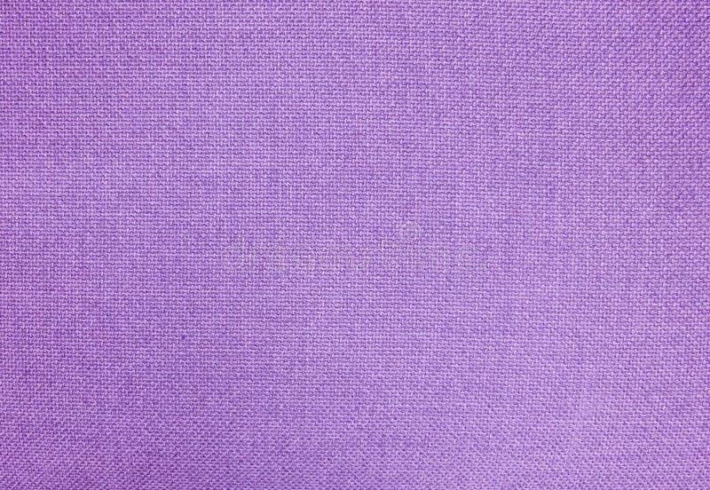 Pastelkleurachtergrond van Purpere Katoenen Textieltextuur stock afbeelding