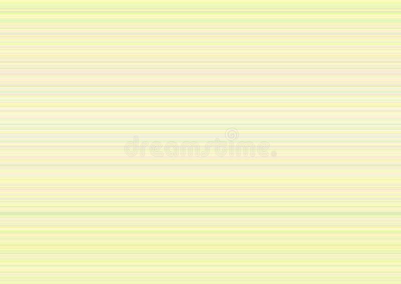 Pastelkleuren Zachte Streep Vage Achtergrond stock illustratie