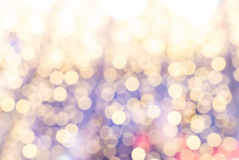 Pastell-bokeh abstrakte Hintergr?nde von mit Kreislichtern stockfotografie