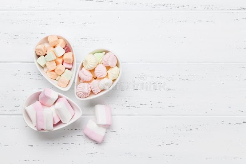 Pastell farbige Bonbons lizenzfreies stockbild
