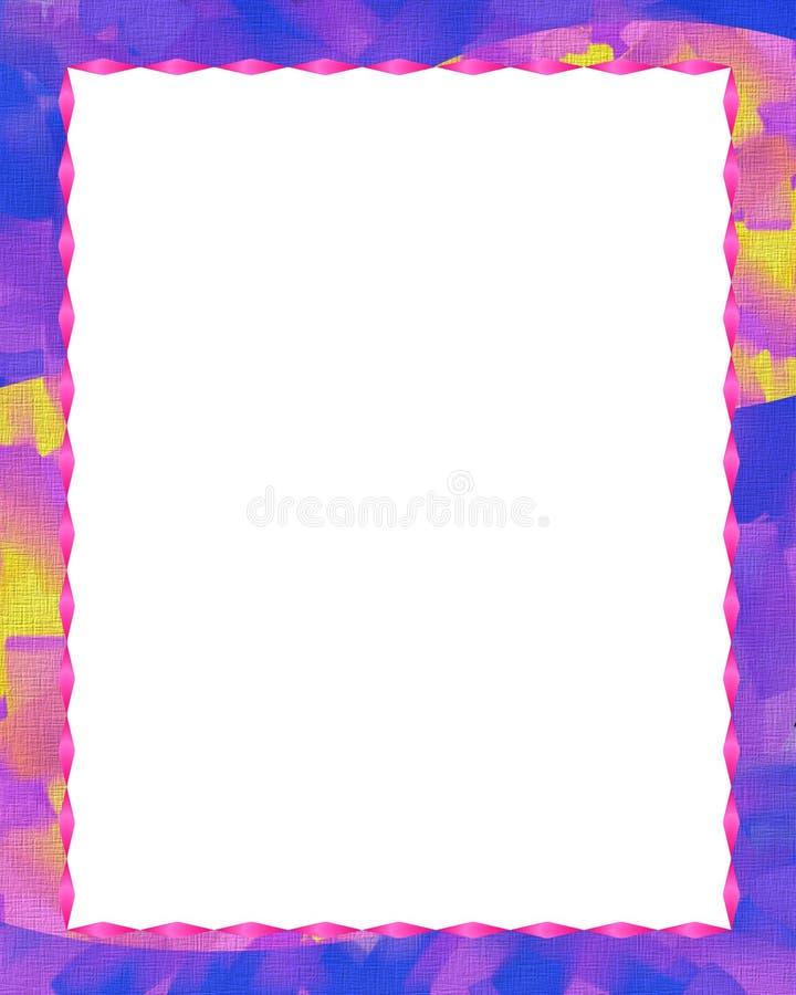 Pastell Frame1 Fotografering för Bildbyråer