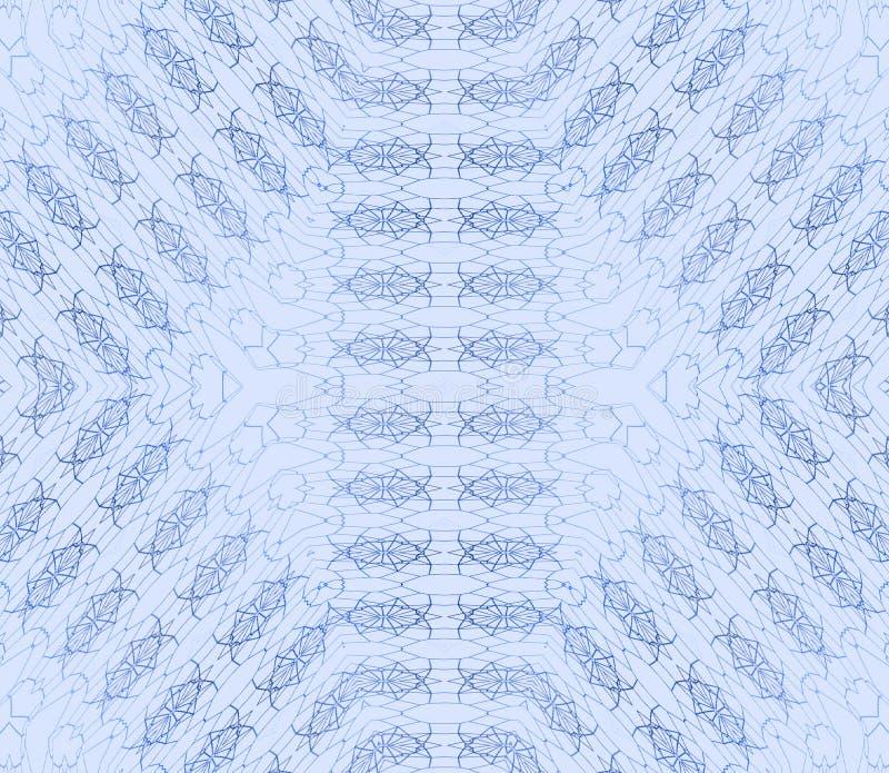 Pastellblau des nahtlosen Diamantmusters stock abbildung