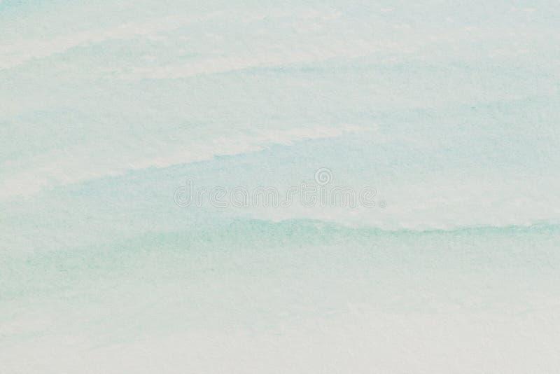 Pastellfärgad blåttvattenfärgabstrakt begrepp royaltyfri foto