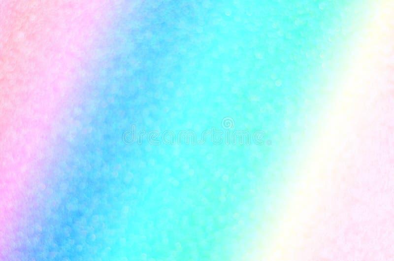 Pastellfärgad bokehbakgrund för abstrakt regnbåge arkivbilder