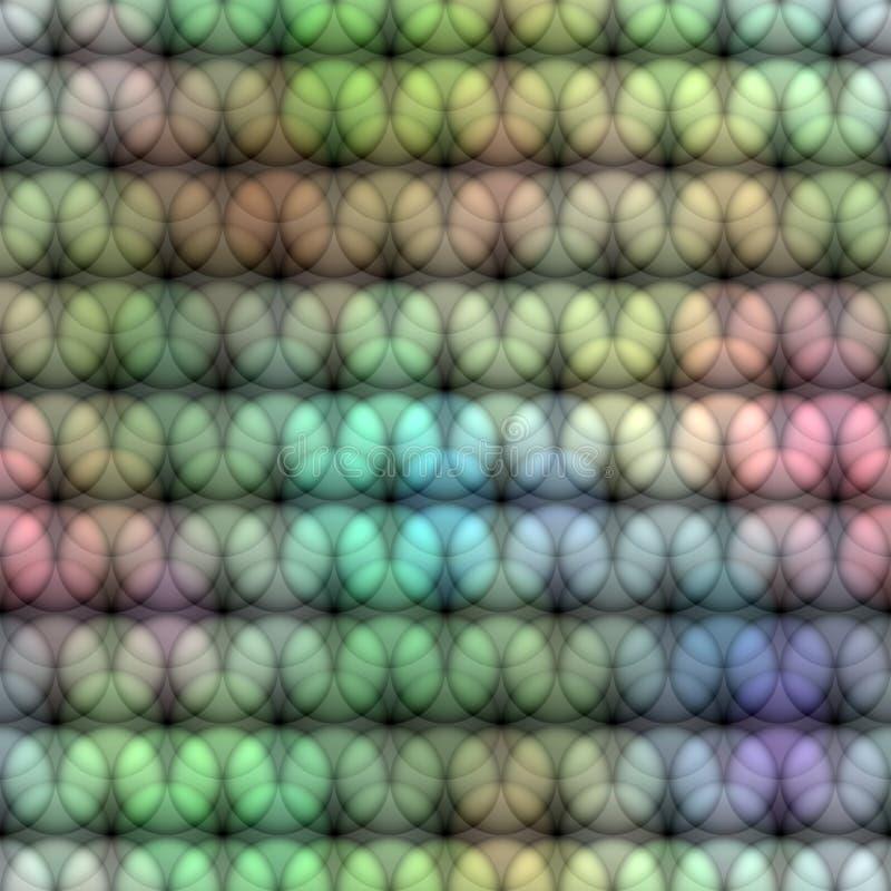 Pastellfärgad cirkelmodell royaltyfri illustrationer