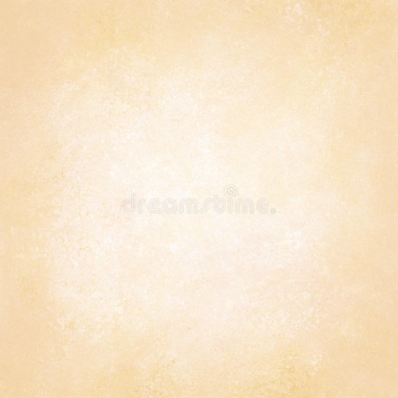 Pastellfärgad guldgulingbakgrund med den vit texturerade mittdesignen, mjuk blek beige bakgrundsorientering som är gammal av vitb royaltyfria bilder