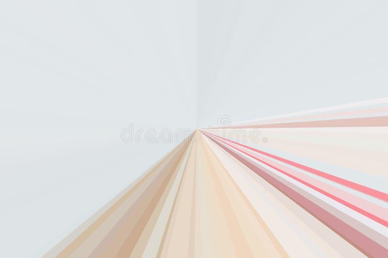 Pastellfärgad mjuk linssignalljus för bakgrund Abstrakt suddig lutning Färgrik bandstrålmodell Modern trendsänka för stilfull ill vektor illustrationer